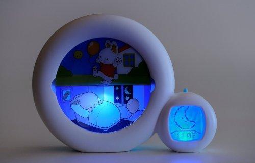 kid sleep bunny clock instructions