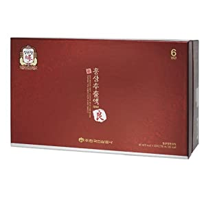 Cheong Kwanjang By Korea Ginseng Corporation Korean Red Ginseng Pure Extracts Good Grade 양삼 추출액 /良蔘 90mlX30bag