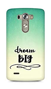 AMEZ dream big Back Cover For LG G3
