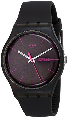 [スウォッチ]SWATCH 腕時計 NEW GENT(ニュージェント) BROWN REBEL SUOC700 【正規輸入品】