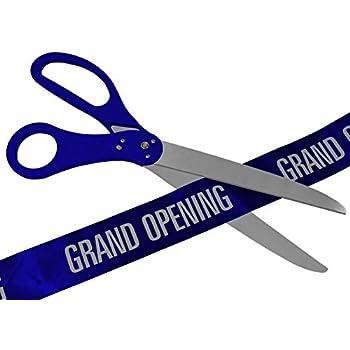25 Inch Royal Blue Ribbon Cutting Scissors
