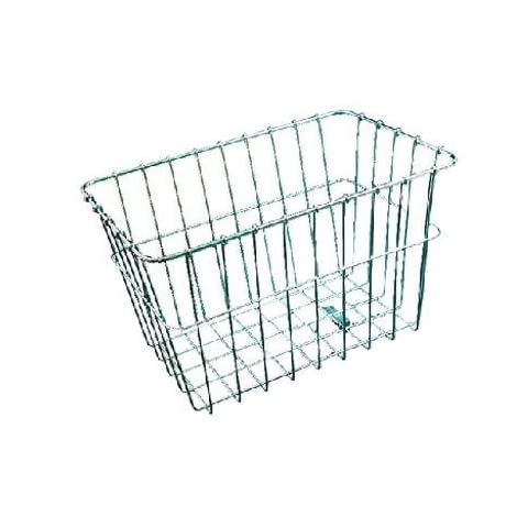 Wald Rear Mounted Bike Basket - Silver - #585