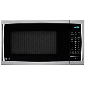 LG LCRT1510SV 1.5 Cu Ft Counter Top Microwave Oven With True Cook Plus and EZ Clean Oven, Silver Color