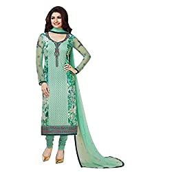 Radhika Embroidered Georgette Dress Material