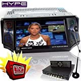 HYPE HV560TNT Autoradio 1 DIN DVD ecran tactile 13cm video DivX MP3 USB SD Bluetooth + Tuner TNT