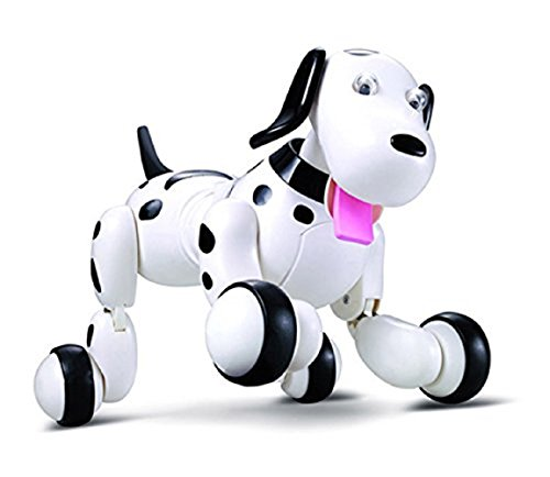 [Babrit Wireless Remote Control Smart Dog Electronic Pet Educational Children's Toy Dancing Robot Electric Dog] (Female Robot Costumes)