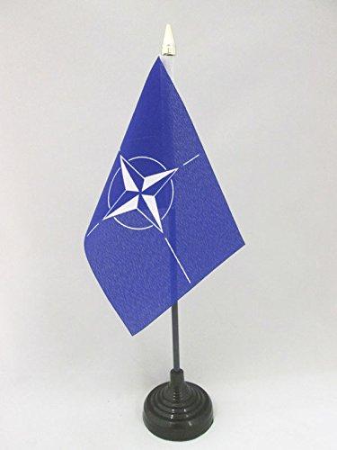 az-flag-nato-table-flag-4-x-6-north-atlantic-treaty-organization-desk-flag-15-x-10-cm-golden-spear-t