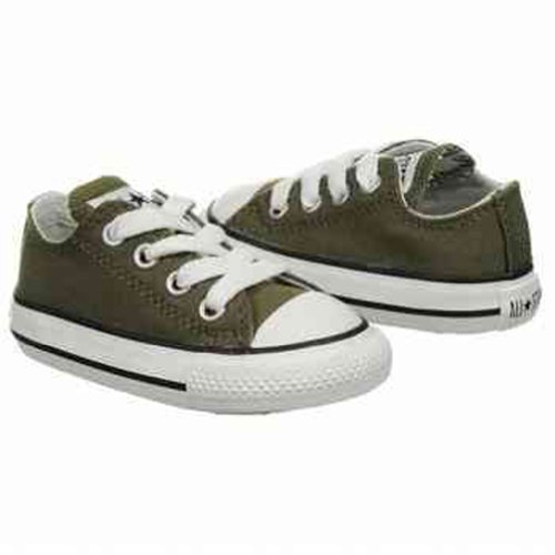 CONVERSE Kids' All Star Specialty Ox To (Olive 2.0 M)