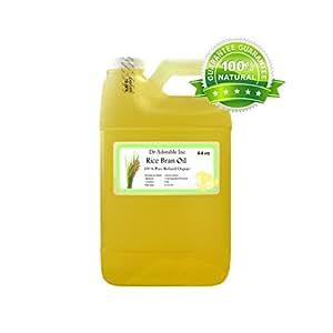 Amazon.com: Rice Bran OIL Organic 100% Pure Cold Pressed