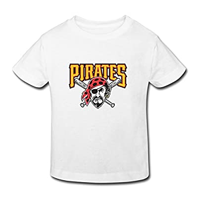 Ambom Pittsburgh Pirates Little Boys Girls Short Sleeve T Shirt For Toddler