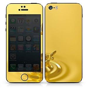 Apple iPhone 5 S Folie Skin Aufkleber Schutzfolie Sticker DesignSkins - Gold Crown