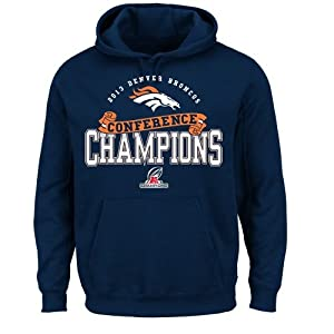 NFL Denver Broncos Mens Conference Choice VI Fleece Pullover by VF LSG