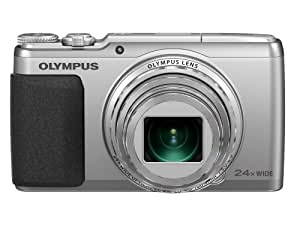 Olympus Stylus SH-50 iHS Digital Camera with 24x Optical Zoom and 3-Inch LCD (Silver) (Old Model)