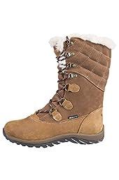 Mountain Warehouse Vostock Womens Snow Boots Brown 9 M US Women