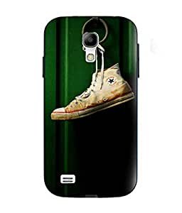Snazzy Shoe Printed Green Soft Silicon Back Cover For Samsung Galaxy S4 Mini