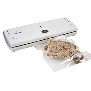 Rival 3 Step Vacuum Sealer w/ Bag Starter Kit