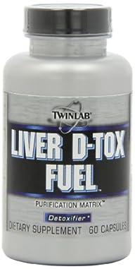 Twinlab Detox Fuel, 60 Capsules