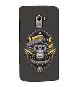 EPICCASE Blackout Monkey Mobile Back Case Cover For Lenovo Vibe K4 Note (Designer Case)