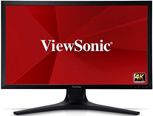 【正規代理店品】ViewSonic 27インチ 4K(3840x2160)液晶ディスプレイ(IPS / ブルーライト低減 / フリッカーフリー / sRGBカバー率100% /3年保証(パネル・バックライト含)/ブラック) VP2780-4K