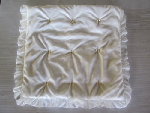 Baby Doll Layered Crib Comforter, Ivory