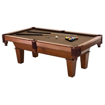 7' FRISCO BILLIARD TABLE W/PLAY PACK.