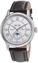 Revue Thommen Men's 16066.253199999999 Moonphase Analog Display Swiss Automatic Black Watch