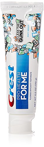 Crest Pro-Health Jr. Fluoride Anticavity Toothpaste - 6 oz - Minty Breeze (Crest Pro Health Minty Breeze compare prices)