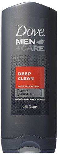Dove Men Plus Care Body Wash, Deep Clean, 13.5 oz.