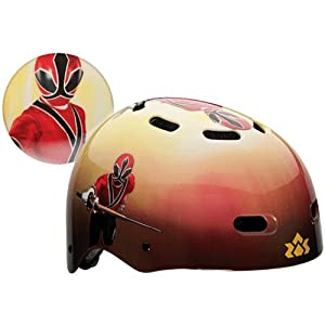 Bell Power Rangers Child Multi-Sport Helmet Plus Coordinating Bell
