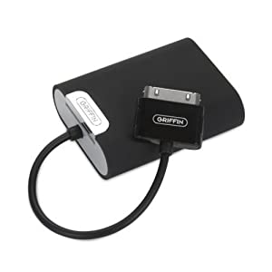 Griffin TuneJuice 2 Battery Backup for iPod (Black)