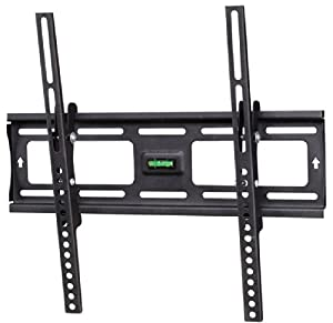 Arrowmounts AM-CHT2342B Ultra-Slim Tilting Wall Mount for LED/LCD TV, Black