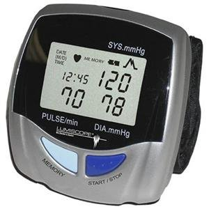 Cheap Lumiscope, Digital Auto Wrist BP Monitor (Catalog Category: Personal Care / Blood & Heart Monitors) (ITE-1143-DAH|1)