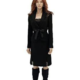 (ジュエル)jewel 【st1850038】レディース スカートスーツ 3点セット(ジャケット、スカート、リボン)