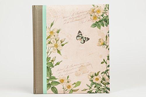 Álbum de Fotos Mariposa y Flores