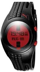 Puma Straps Shift Chronograph Digital Red Dial Women's watch #PU910482004 from Puma