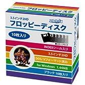 HIDISC フロッピーディスク3.5 2HD(Win)DOS/Vフォーマット済10枚