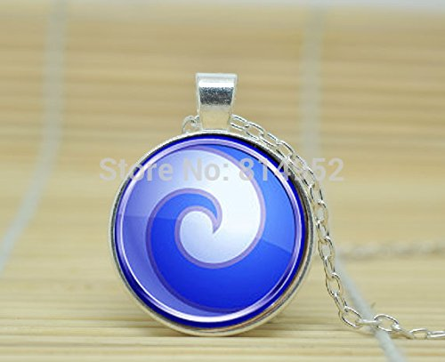VintaStore Art Glass Necklace Air Nomad Avatar The Last Airbender Necklace Jewelry A4284
