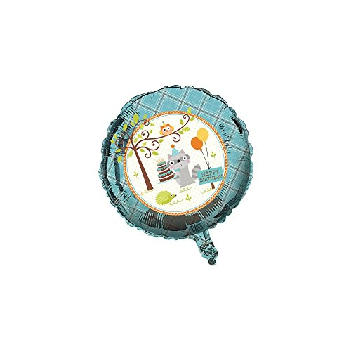 "Woodland Boy 18"" Happy Birthday Foil Balloon (1 ct)"