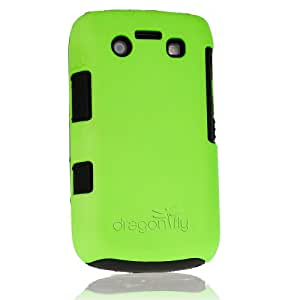 Dragonfly BlackBerry 9700 Tandem Case - Neon Green
