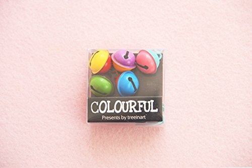 Colourful Decorative Bell,Fashion Metal Bell(Set of 5 pcs)