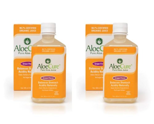 AloeCure® Grape 2 bottle - 1 week supply