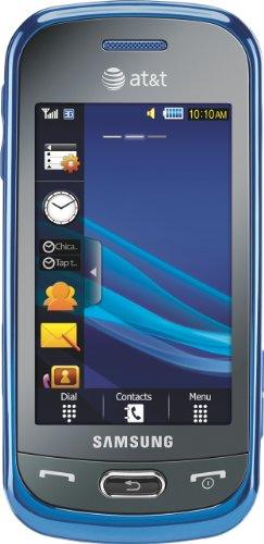 Samsung Eternity II Phone, Blue (AT&T)