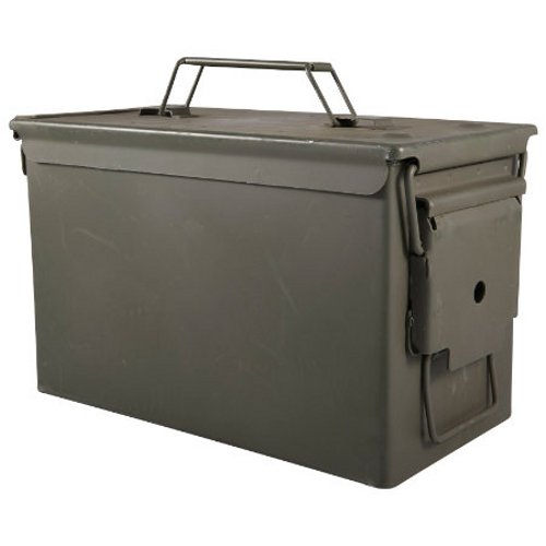 Green Metal Ammo Can - .50 Cal. M2A1 (Ammo Boxes Metal compare prices)