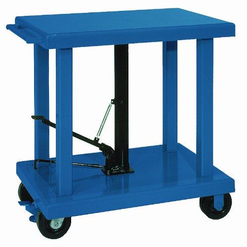 Wesco 260064 Steel Medium Duty Lift Table, 2000 lbs Capacity, 36