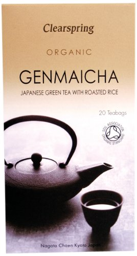Clearspring Organic Genmaicha Green Tea With Rice (Pack of 3)