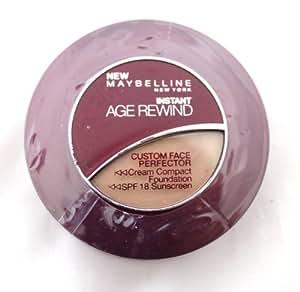 Maybelline Instant Age Rewind Cream Foundation Creamy Natural Light