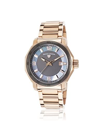 Swiss Legend Women's SL-16190SM-RG-104 Blu Geneve Rose-Tone Stainless Steel Watch