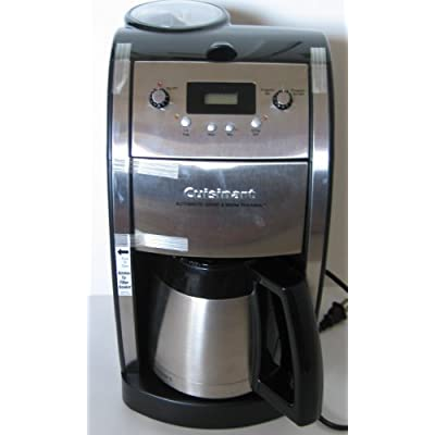 Cuisinart Coffee Maker Automatic Grind And Brew Thermal : Amazon.com: Cuisinart DCC-590 Grind and Brew Thermal 10-Cup Automatic Programmable Coffee Maker ...