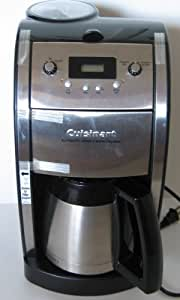 Drip Coffee Maker Problems : Amazon.com: Cuisinart DCC-590 Grind and Brew Thermal 10-Cup Automatic Programmable Coffee Maker ...