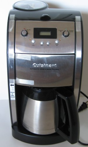 Cuisinart Coffee Maker Electrical Problems : cuisinart coffee maker problems: cuisinart coffee maker problems For Cuisinart DCC-590 Grind and ...